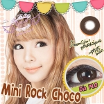 Mini Rock Choco Dreamcolor1 คอนแทคเลนส์ ขายส่งคอนแทคเลนส์ Bigeyeเกาหลี