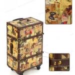 กระเป๋าเดินทางวินเทจ รุ่น vintage classic ลายผีเสื้อ ขนาด 20 นิ้ว