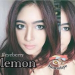 สั้น/power -50 LEMON GRAY EYEBERRYLENS
