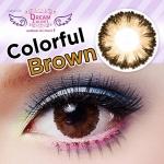 Colorful Brown Dreamcolor1เลนส์นิ่มใส่สบาย คอนแทคเลนส์ ขายส่งคอนแทคเลนส์ ขายส่งBigeye Bigeyeเกาหลี