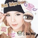 Mini Tokyo Brown Dreamcolor1 คอนแทคเลนส์ ขายส่งคอนแทคเลนส์ Bigeyeเกาหลี