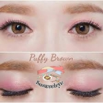 Puffy Brown Dueba สั้น/power -425