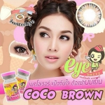 สั้น/power -75 COCO BROWN EYEBERRYLENS