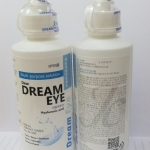 Dreameye All in one ขนาด 150 ml แช่+หยอด ในขวดเดียว น้ำยาล้างคอนแทคเลนส์ น้ำยาแช่คอนแทคเลนส์