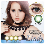 Lindy Blue Dreamcolor1เลนส์นิ่มใส่สบาย คอนแทคเลนส์ ขายส่งคอนแทคเลนส์ ขายส่งBigeye บิ๊กอายเกาหลี