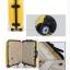 กระเป๋าเดินทางไฟเบอร์ รุ่น Aluminium เหลือง ขนาด 24 นิ้ว thumbnail 4
