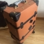 กระเป๋าเดินทางวินเทจ รุ่น retro brown น้ำตาลคาดดำ ขนาด 26 นิ้ว thumbnail 7
