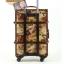 กระเป๋าเดินทางวินเทจ รุ่น vintage classic ลายซองจดหมาย ขนาด 22 นิ้ว thumbnail 4