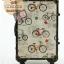 กระเป๋าเดินทางวินเทจ รุ่น vintage classic ลายจักรยาน ขนาด 22 นิ้ว thumbnail 1