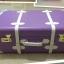 กระเป๋าเดินทางวินเทจ รุ่น spring colorful ม่วงคาดขาว ขนาด 22 นิ้ว thumbnail 2
