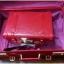 กระเป๋าเดินทางวินเทจ รุ่น spring colorful แดงคาดแดงล้วน ขนาด 20 นิ้ว thumbnail 2