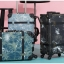 กระเป๋าเดินทางวินเทจ รุ่น เรโทรยีนส์ สีดำ ไซต์ 22 นิ้ว thumbnail 4