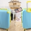 กระเป๋าเดินทางไฟเบอร์ รุ่น pastal ฟ้าขอบเขียว ขนาด 24 นิ้ว thumbnail 3