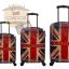 กระเป๋าเดินทางแฟชั่น แนวๆ ลายธงชาติอังกฤษสีซีด ขนาด 23 นิ้ว thumbnail 2