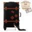 กระเป๋าเดินทางวินเทจ รุ่น retro brown ดำคาดน้ำตาล ขนาด 24 นิ้ว thumbnail 1