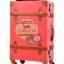 กระเป๋าเดินทางล้อลากวินเทจ รุ่น vintage retro สี แดง เซ็ตคู่ ขนาด 12+24 นิ้ว thumbnail 4