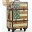 กระเป๋าเดินทางวินเทจ รุ่น vintage classic ลายธงชาติอเมริกา ขนาด 20 นิ้ว thumbnail 4