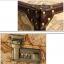 กระเป๋าเดินทางวินเทจ รุ่น vintage classic ลายแผนที่ ขนาด 22 นิ้ว thumbnail 7