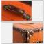 กระเป๋าเดินทางวินเทจ รุ่น vintage classic น้ำตาลส้มคาดน้ำตาล ขนาด 22 นิ้ว thumbnail 6