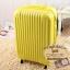 กระเป๋าเดินทางไฟเบอร์ รุ่น pastal เหลือง ขนาด 28 นิ้ว thumbnail 1