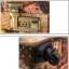 กระเป๋าเดินทางวินเทจ รุ่น vintage classic ลายซองจดหมาย ขนาด 22 นิ้ว thumbnail 9