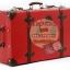 กระเป๋าเดินทางวินเทจ รุ่น retro brown แดงเข้มคาดน้ำตาล ขนาด 26 นิ้ว thumbnail 6