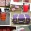 กระเป๋าเดินทางวินเทจ รุ่น spring colorful แดงคาดน้ำตาล ขนาด 22 นิ้ว thumbnail 6