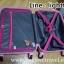 กระเป๋าเดินทางล้อลากไฟเบอร์ รุ่น colorful ชมพูขอบชมพูอ่อน ขนาด 20/24/28 นิ้ว thumbnail 7