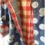 เสื้อสไตล์ญี่ปุ่น 2 ชิ้น ผ้ายีนส์ลายวงกลม thumbnail 6