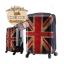กระเป๋าเดินทางแฟชั่น แนวๆ ลายธงชาติอังกฤษสีซีด ขนาด 23 นิ้ว thumbnail 3
