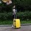 กระเป๋าเดินทางไฟเบอร์ รุ่น Aluminium เหลือง ขนาด 28 นิ้ว thumbnail 8