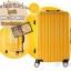 กระเป๋าเดินทางไฟเบอร์ รุ่น Aluminium เหลือง ขนาด 24 นิ้ว thumbnail 3