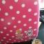 """กระเป๋าเดินทางไฟเบอร์ PC+ABS Lovely Polka dot สีชมพูเข้มลายจุดขาว (ไซต์ 18"""",22"""",26"""") thumbnail 11"""