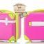 กระเป๋าเดินทางวินเทจ รุ่น colorful ชมพูคาดเขียว ขนาด 24 นิ้ว thumbnail 2