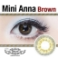 Mini Anna Brown Dreamcolor1เลนส์นิ่มใส่สบาย คอนแทคเลนส์ ขายส่งคอนแทคเลนส์ ขายส่งBigeye Bigeyeเกาหลี thumbnail 2