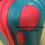 กระเป๋าเดินทางล้อลากไฟเบอร์ รุ่น colorful ฟ้าเข้มขอบชมพู ขนาด 20/24/28 นิ้ว thumbnail 10