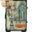 กระเป๋าเดินทางวินเทจ รุ่น vintage classic ลายเมืองฝรั่งเศส ขนาด 22 นิ้ว thumbnail 4