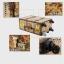 กระเป๋าเดินทางวินเทจ รุ่น vintage classic ลายดอกไม้ ขนาด 22 นิ้ว thumbnail 8