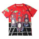 D&G เสื้อยืด Dolce&Gabbana Monkey T Shirt แฟชั่น Summer 2016 ไซส์ L