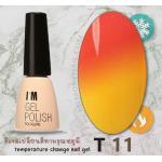 สีเจลทาเล็บ เปลี่ยนสีตามอุณหภูมิ รหัส T-11