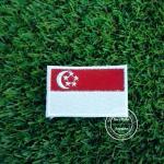 อาร์มปักธงสิงคโปร์