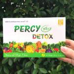เพอร์ซี่ดีท็อกซ์ Percy Daily Detox ดีท็อกซ์ลดพุง แก้ท้องผูก 3 กล่อง แถมฟรี เพอร์ซี่ดีท็อกซ์ 2 ซอง ราคา 2250 บาท