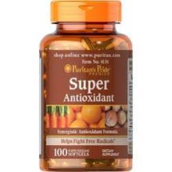 Puritan's Pride Super Antioxidant Formula/100 Softgels