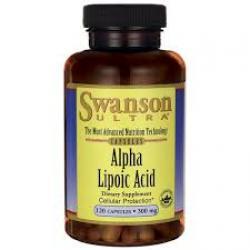 Swanson Ultra Alpha Lipoic Acid 300 mg / 120 Caps
