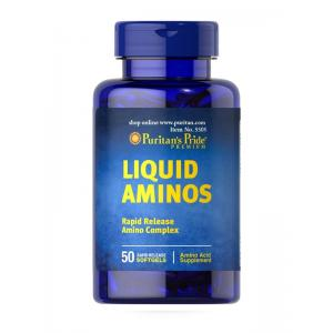 Puritan's Pride Liquid Aminos / 50 Softgels