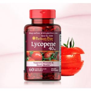 Puritan's Pride Lycopene 40 mg / 60 Softgels