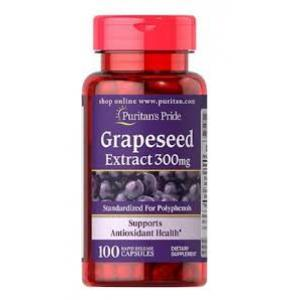 Puritan's Pride Grapeseed Extract 300 mg / 100 Capsules