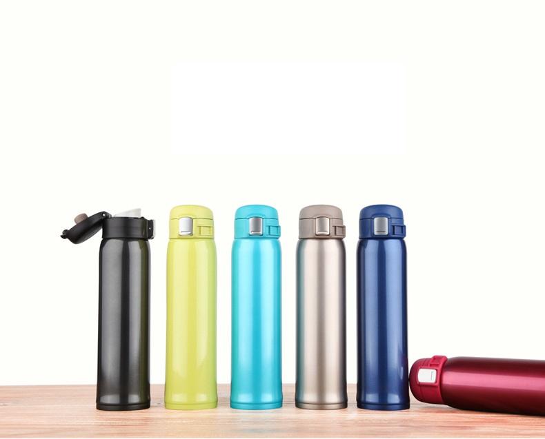 กระติกน้ำ เก็บความร้อนความเย็น one touch 420 ml