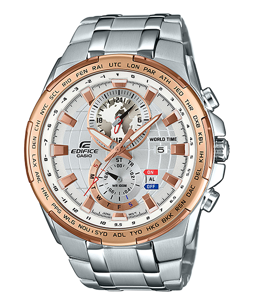นาฬิกา คาสิโอ Casio Edifice Chronograph รุ่น EFR-550D-7AV สินค้าใหม่ ของแท้ ราคาถูก พร้อมใบรับประกัน