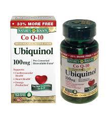 Nature's Bounty Ubiquinol 100 mg. / 40 Softgels